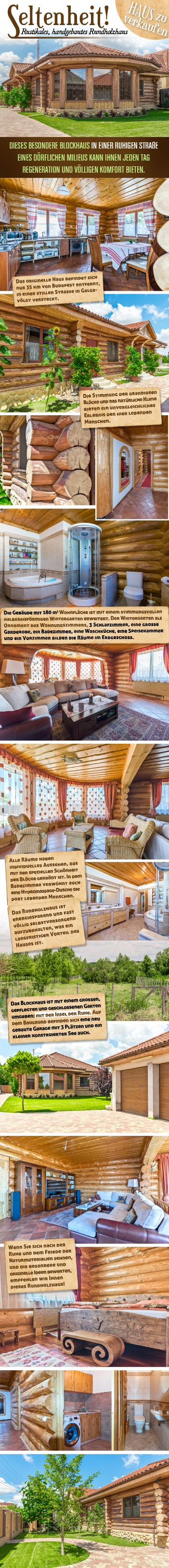 Blockhaus in Ungarn zu verkaufen: